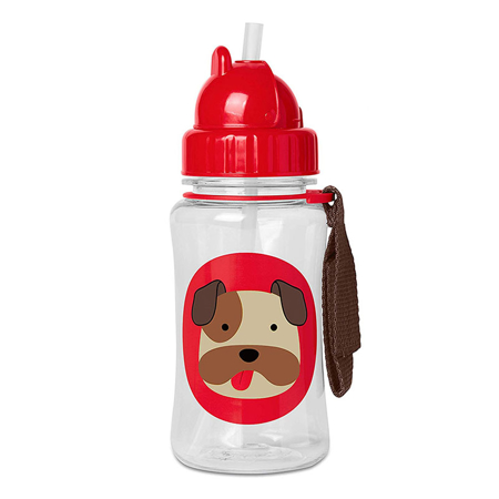 Slika Skip Hop® Steklenička s slamico Kuža Buldog