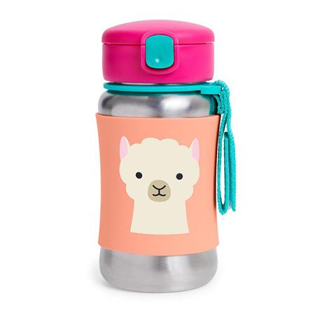 Slika Skip Hop® Steklenička iz nerjavečega jekla s slamico Lama