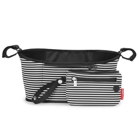 Slika Skip Hop® Organizator za voziček Black & White Stripe