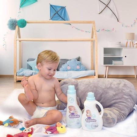 Violeta® Double Care Baby Mehčalec za perilo 900ml