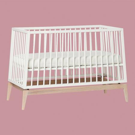 Slika Leander® Otroška postelja Luna™ 120x60 cm White/Oak