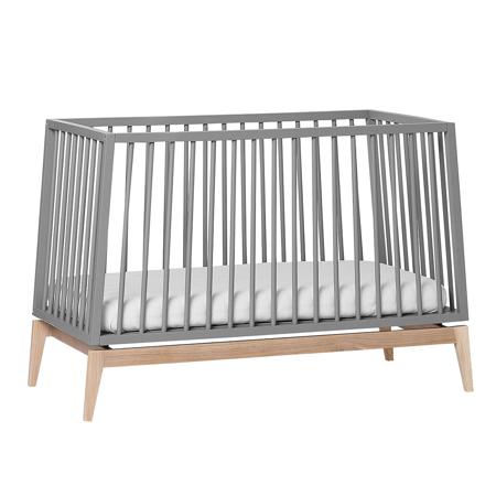 Slika Leander® Otroška postelja Luna™  120x60 cm Grey/Oak