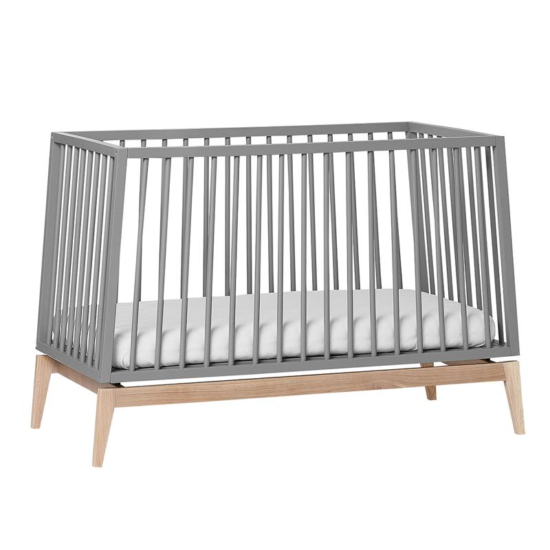 Leander® Otroška postelja Luna™  120x60 cm Grey/Oak