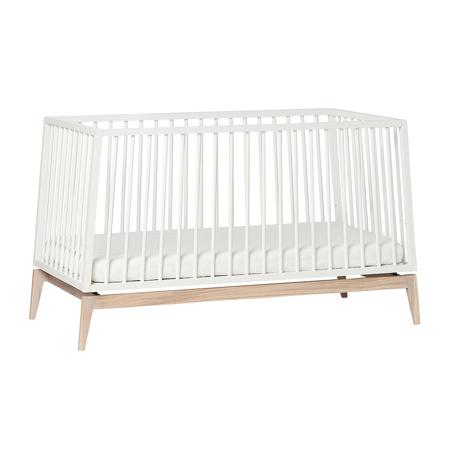 Slika Leander® Otroška postelja Luna™ 140x70 cm White/Oak