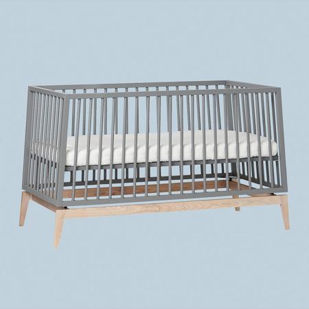 Leander® Otroška postelja Luna™ 140x70 cm Grey/Oak