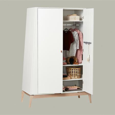 Slika Leander® Otroška omara Luna™ Large White/Oak