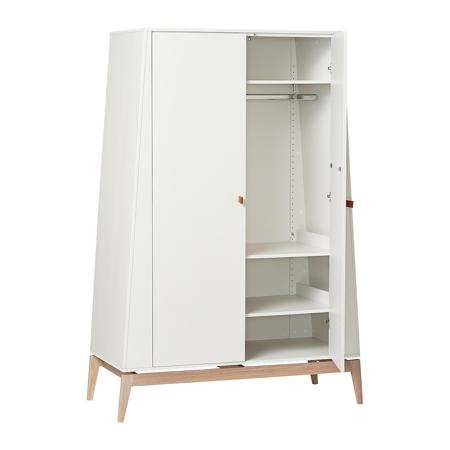 Leander® Otroška omara Luna™ Large White/Oak