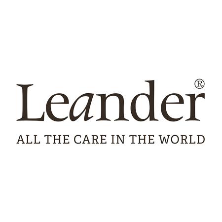 Leander® Predalnik Luna™ White/Oak
