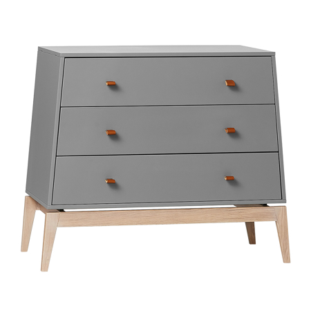 Slika Leander® Predalnik Luna™ Grey/Oak