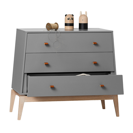 Leander® Predalnik Luna™ Grey/Oak