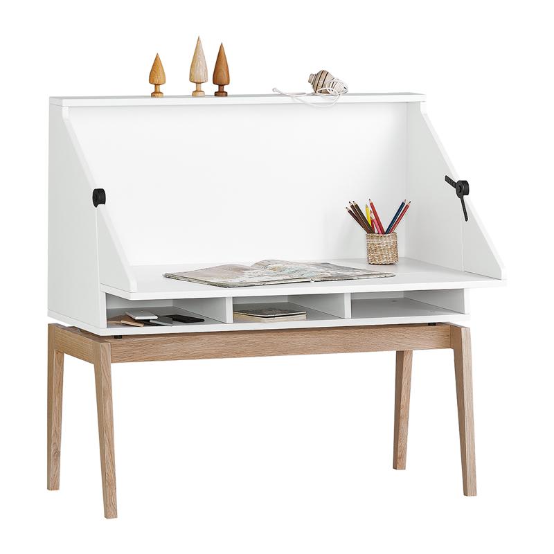 Leander® Otroška mizica Luna™ White/Oak