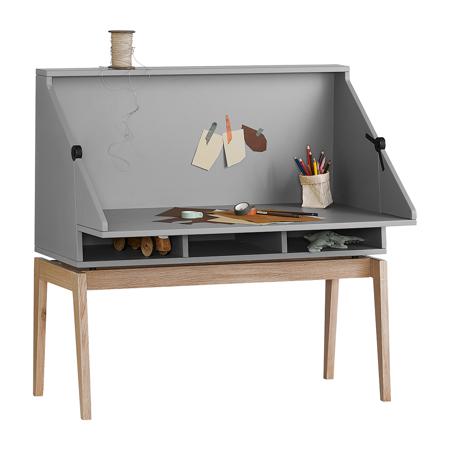 Slika Leander® Otroška mizica Luna™ Grey/Oak
