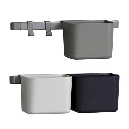 Slika Leander® 3x organizatorji in 2x krajši nosilec Dusty Grey