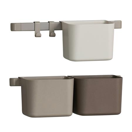 Slika Leander® 3x organizatorji in 2x krajši nosilec Cappuccino