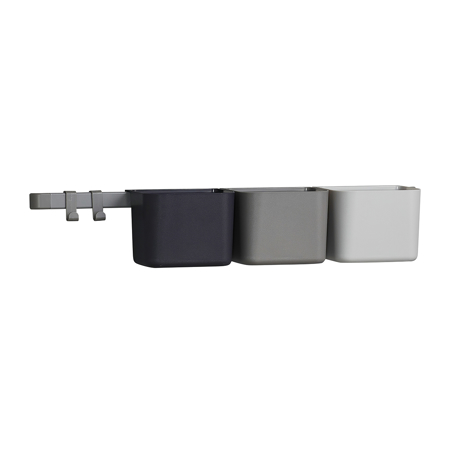 Slika Leander® 3x organizatorji in 1x daljši nosilec Dusty Grey