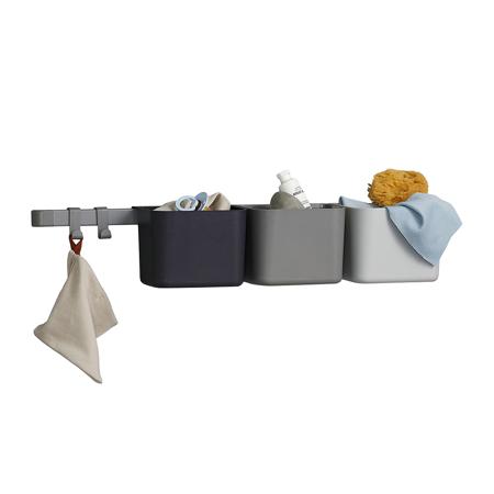 Leander® 3x organizatorji in 1x daljši nosilec Dusty Grey