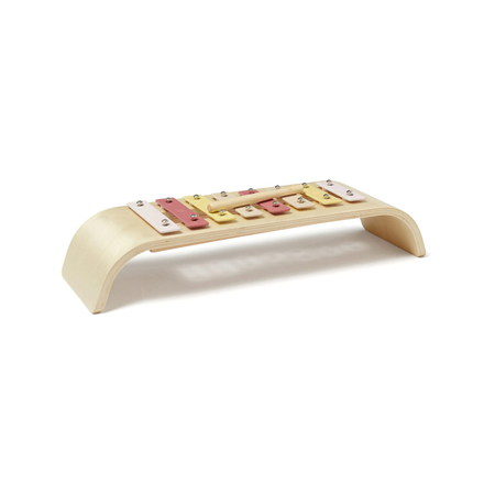 Slika Kids Concept® Leseni ksilofon Pink