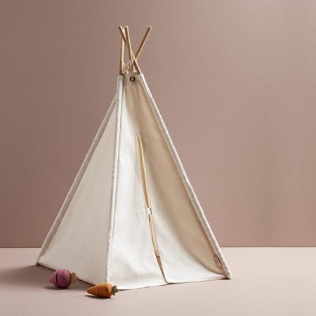 Kids Concept® Mini šotor White/Beige