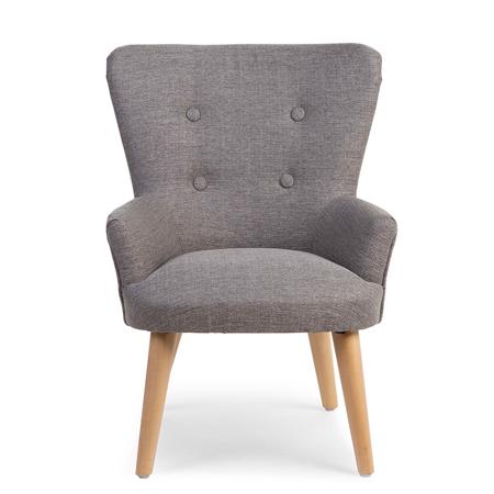 Slika Childhome® Otroška zofa fotelj Childhome Grey
