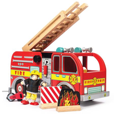 Le Toy Van® Leseni gasilski tovornjak