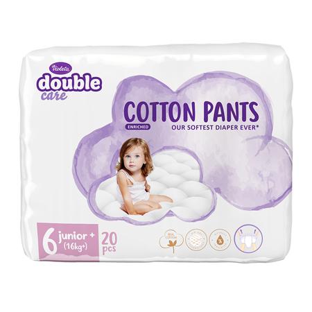 Violeta® Hlačne plenice Cotton 6 Junior+ (16kg+) 20 kosov