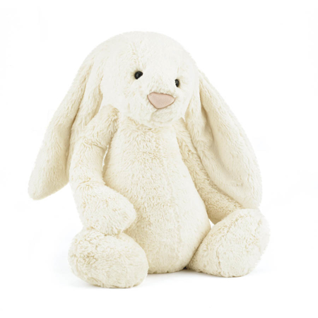 Jellycat® Plišasti zajček Bashful Cream Huge 51cm