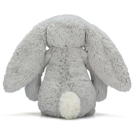 Jellycat® Plišasti zajček Bashful Silver Huge 51cm