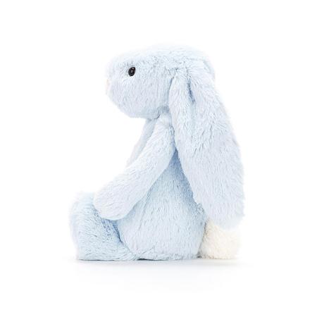 Slika Jellycat® Plišasti zajček Bashful Blue Large 36cm