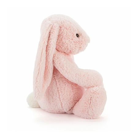 Slika Jellycat® Plišasti zajček Bashful Pink Huge 51cm