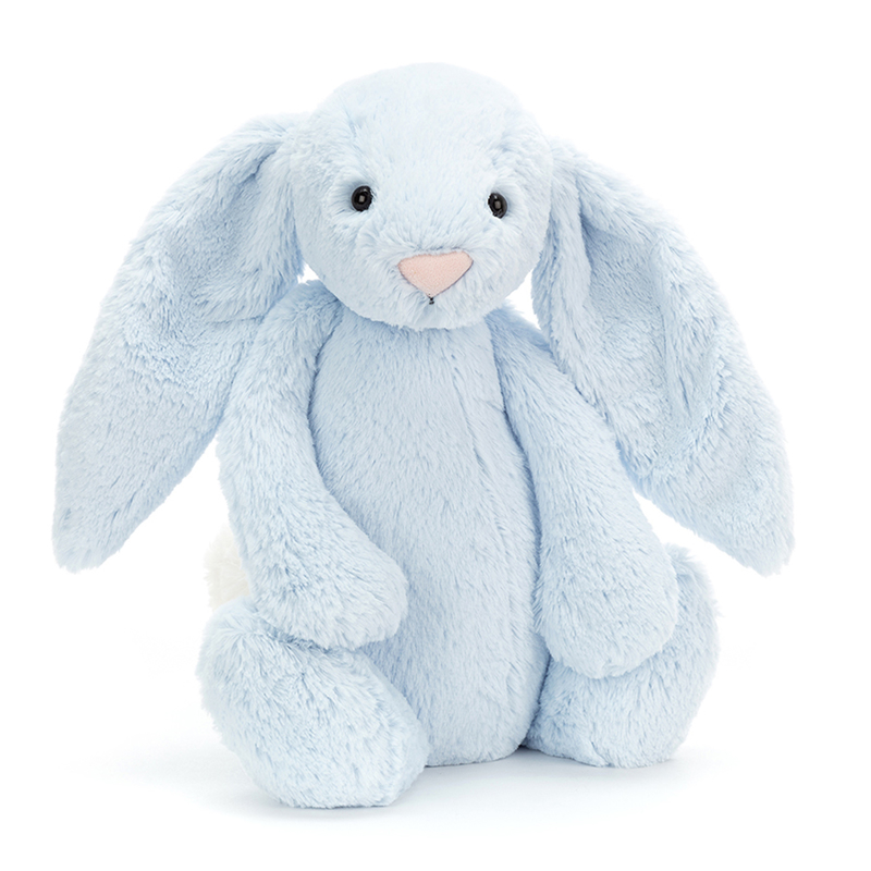 Jellycat® Plišasti zajček Bashful Blue Huge 51cm