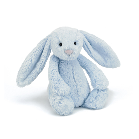 Slika Jellycat® Plišasti zajček Bashful Blue Medium 31cm