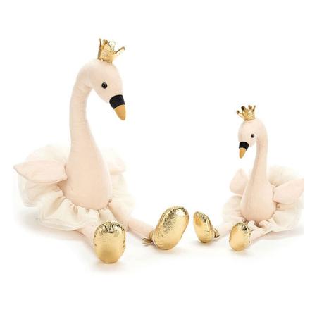 Slika Jellycat® Plišasta igračka Fancy Swan Large 56cm