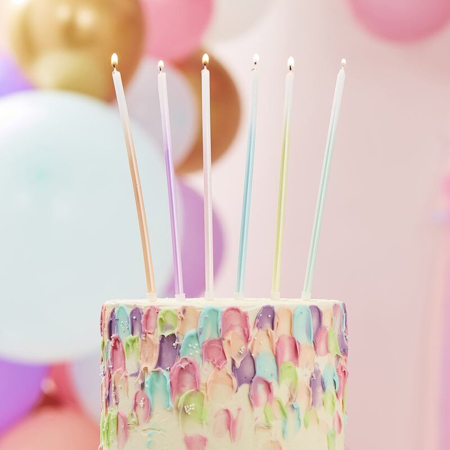 Slika Ginger Ray® Visoke svečke Ombre 12 kosov