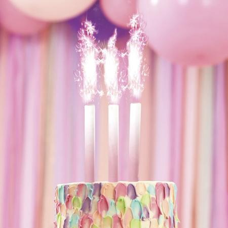 Slika Ginger Ray® Fontana za torto Pink Ombre 3 kosi