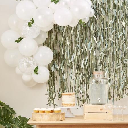 Slika Ginger Ray® Lok iz balonov Pastel White Botanical