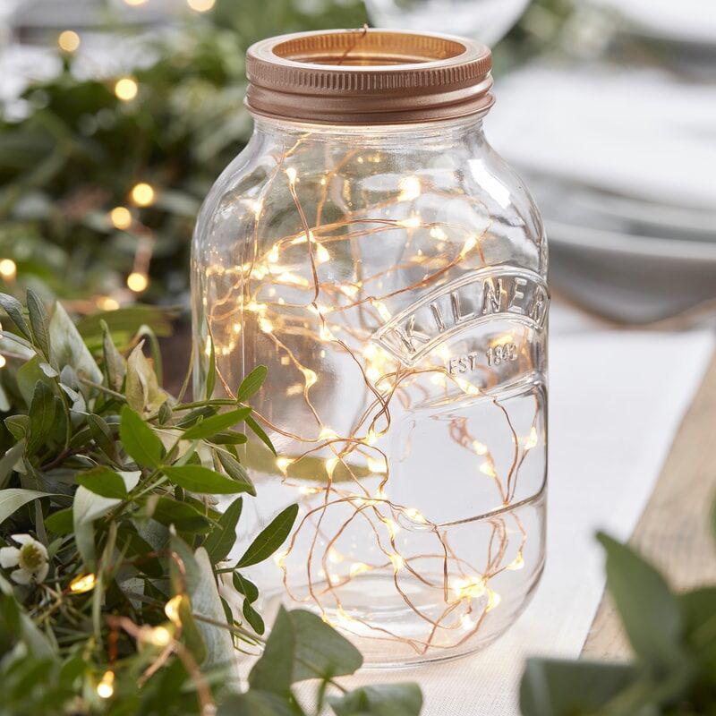 Ginger Ray® Led lučke na vrvici Rose Gold 3m