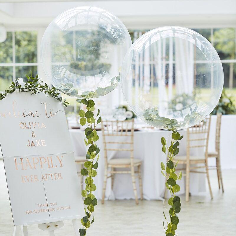 Ginger Ray® Velik balon z dekoracijo Botanical