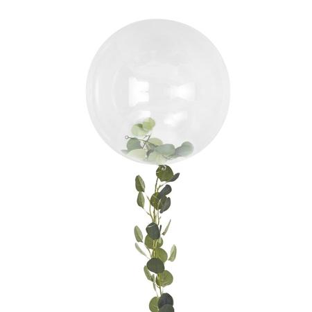 Slika Ginger Ray® Velik balon z dekoracijo Botanical