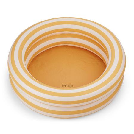 Slika Liewood® Otroški bazen Leonore Stripe Yellow Mellow/Creme