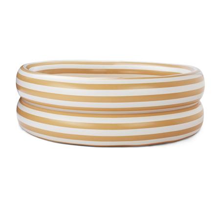 Liewood® Otroški bazen Leonore Stripe Yellow Mellow/Creme