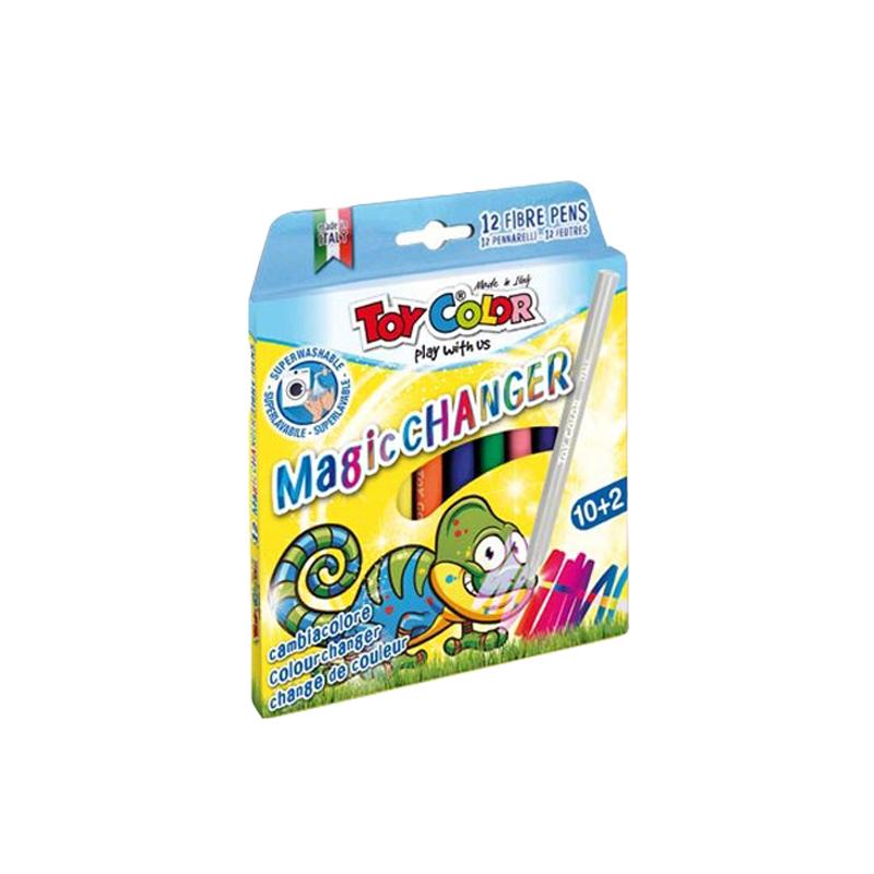Toy Color® Flomastri Magic 10+2 kosa