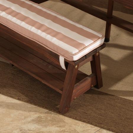 KidKraft® Zunanja miza s stoli in dežnikom Pink/White
