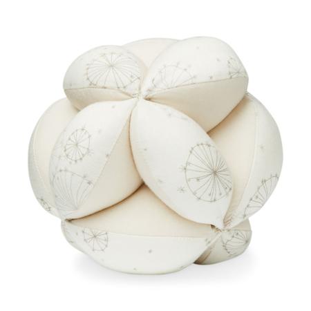 Slika CamCam® Žoga z ropotuljico Dandelion Natural