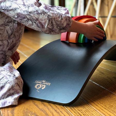 Kinderfeets® Deska za ravnotežje Black