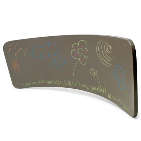 Slika Kinderfeets® Deska za ravnotežje Chalkboard Gray