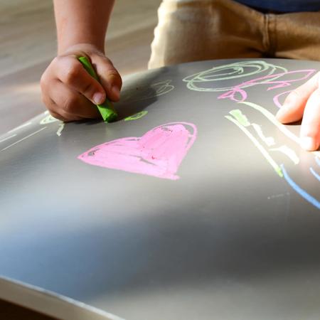 Kinderfeets® Deska za ravnotežje Chalkboard Gray