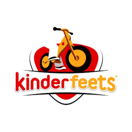 Kinderfeets® Otroška čelada Matte White (18+m)