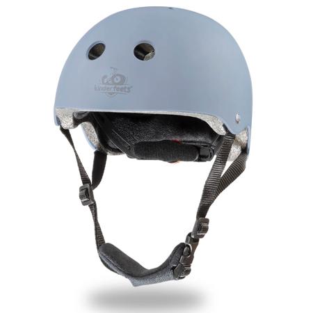 Slika Kinderfeets® Otroška čelada Matte Slate Blue (18+m)