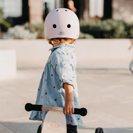 Kinderfeets® Otroška čelada Matte Rose (18+m)