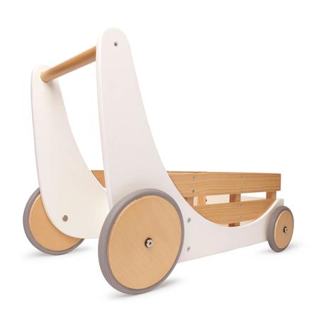 Slika Kinderfeets® Lesen voziček za igrače in urjenje hoje White